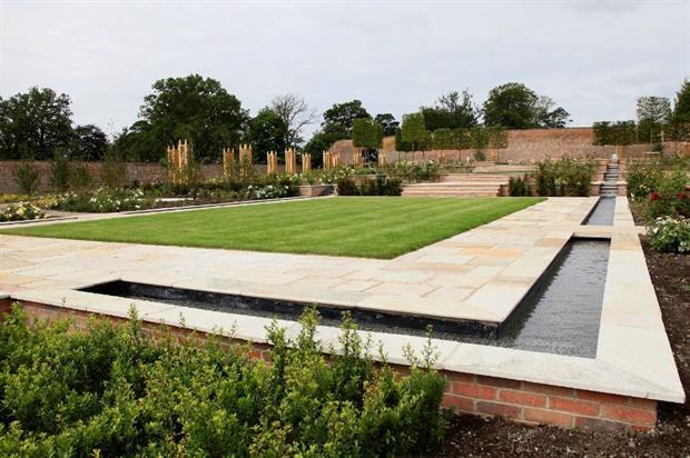 Wynyard Hall's walled garden. Image: Supplied