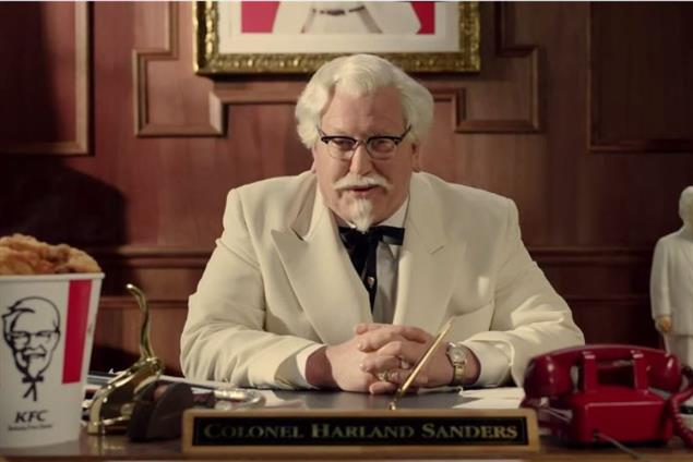 KFC resurrects 'The Colonel' after 20-year hiatus