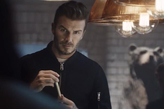 David bends it like Beckham in pool-shark H&M campaign