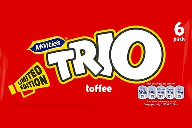 Trio chocolate bar brand to return with digital campaign