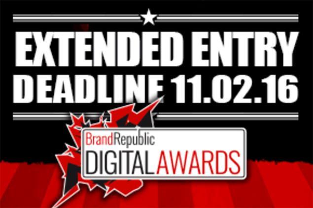 Brand Republic Digital Awards deadline 11 Feb