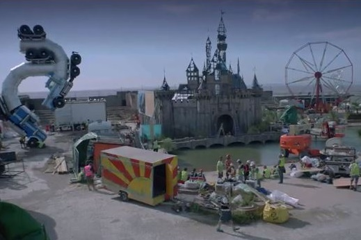 Watch the brilliantly dismal ad for Banksy's Dismaland