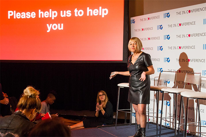 Cindy Gallop urges 3% Conference to 'stop talking about diversity'