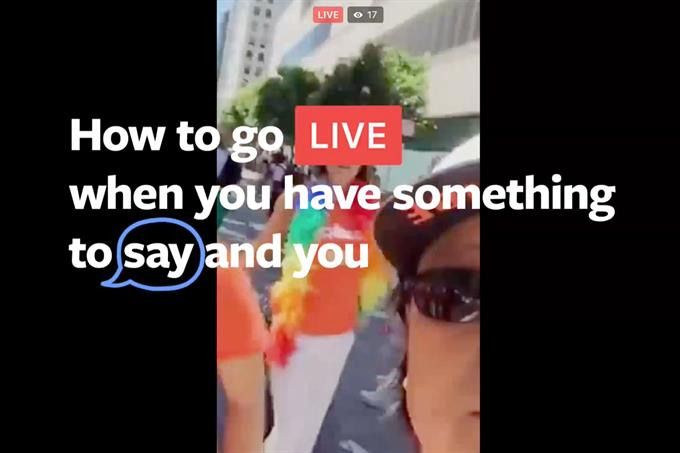 First Facebook Live campaign aims to inspire experimentation
