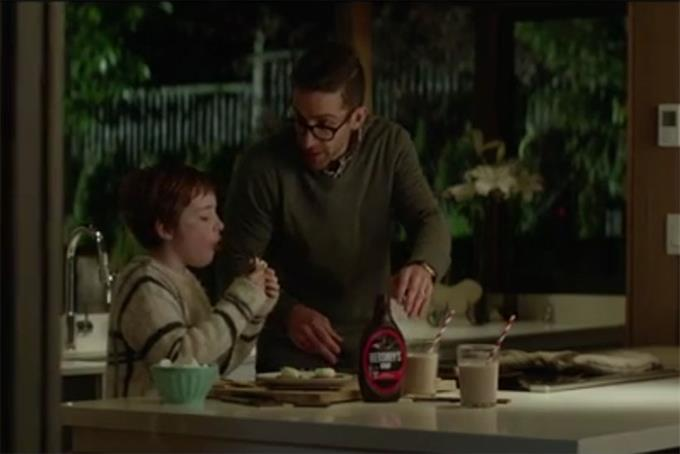 A new Hershey's brand spot tells the sweet story of a girl and her dad