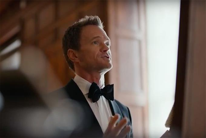 Siri helps Neil Patrick Harris look natural