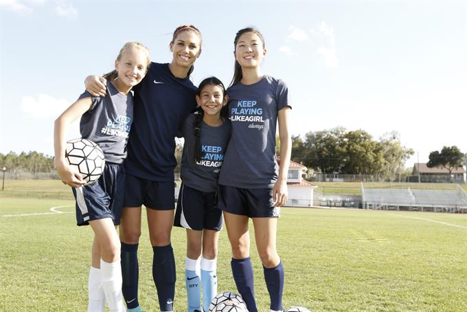 Always #LikeAGirl begins Rio Olympics rollout with gold medalist Alex Morgan