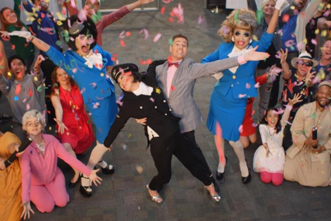Sad about politics? 'Get out of town' says Orbitz musical extravaganza