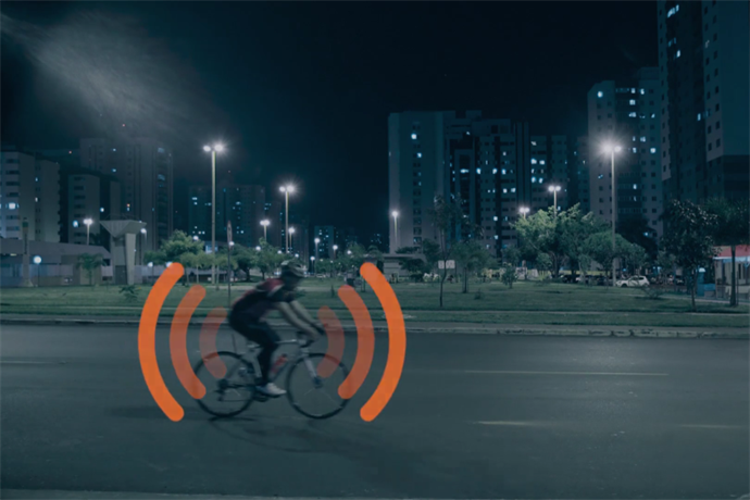 Portable pirate radios from Isobar keep cyclists safe on the road