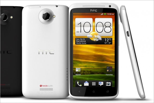 HTC: the company launched its One phone last year