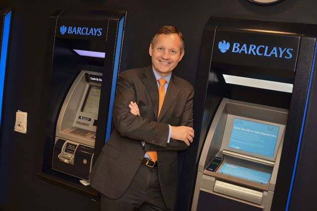Antony Jenkins: chief executive of Barclays