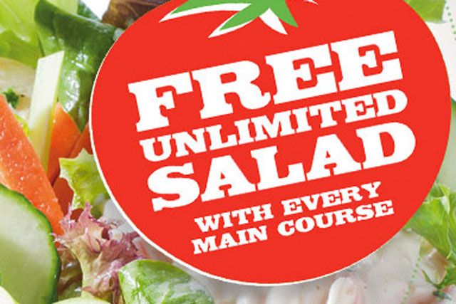 Pizza Hut: aims to boost health credentials with unlimited salad offer