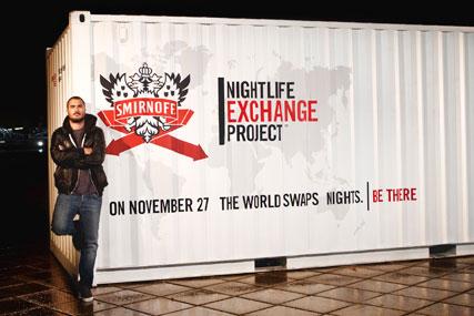 Zane Lowe: front's Smirnoff's UK nightlife search