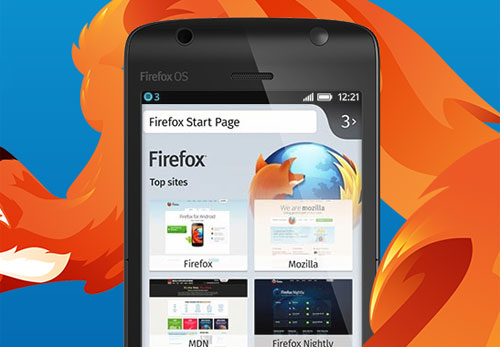 Mozilla Firefox: launches OS