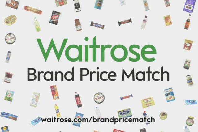 Waitrose: extends price match activity