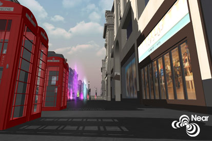 NearGlobal: one of two new virtual worlds centred on London