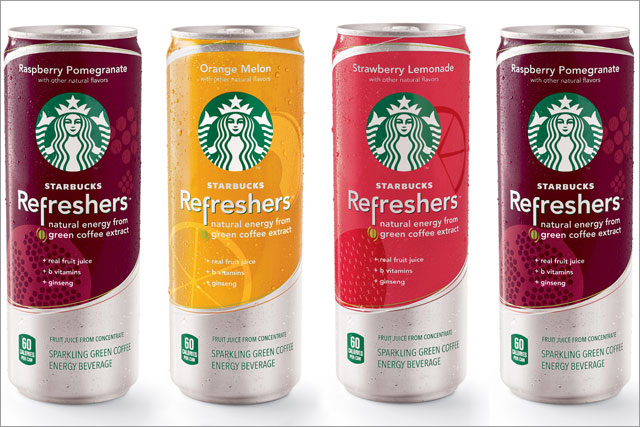 Starbucks: launched Refreshers in March