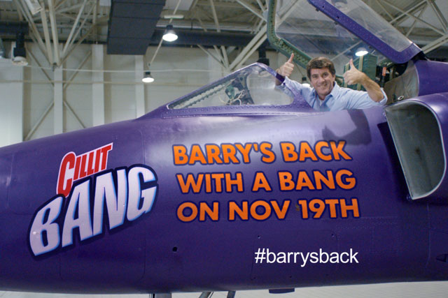 Cillit Bang: Barry Scott returns to star in campaign for cleaning brand