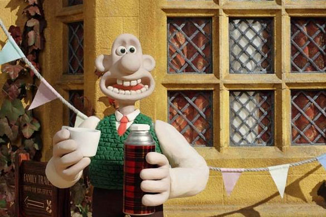 Wallace: will join Gromit in a film celebrating The Queen's Jubilee