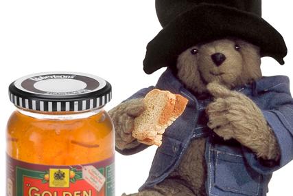 Golden Shred: employs Paddington Bear
