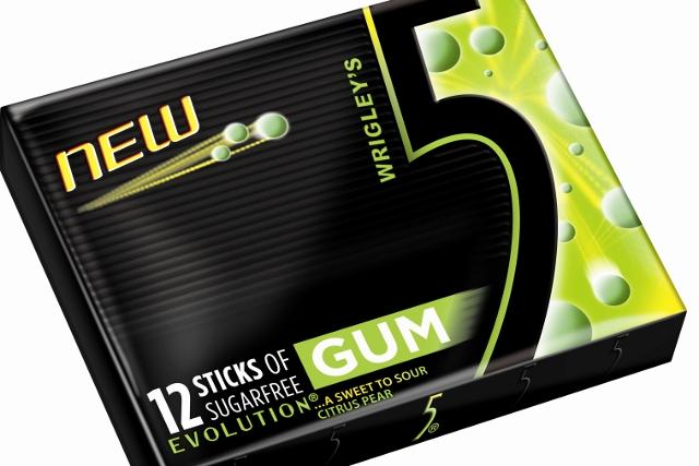 5Gum Evolution: new Wrigley's product