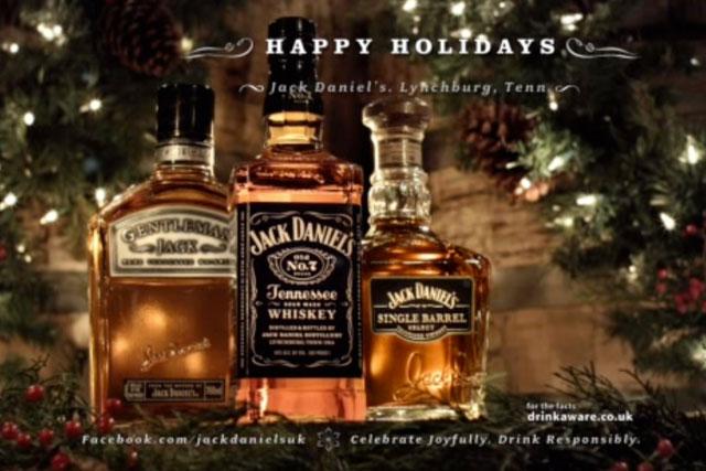 Jack Daniels Christmas advert