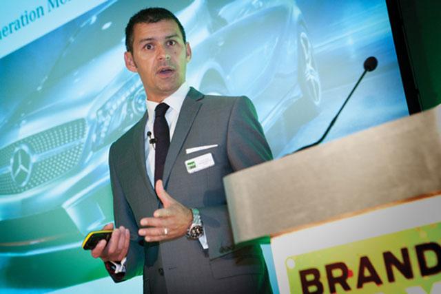 David George: marketing director, Mercedes-Benz