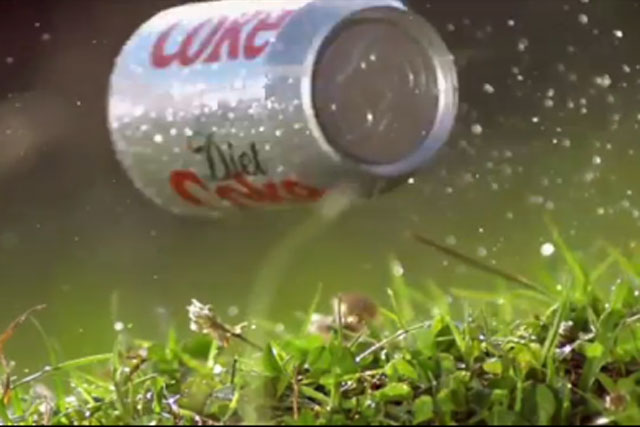 Coca-Cola: increasing marketing spend behind its lower-calorie drinks
