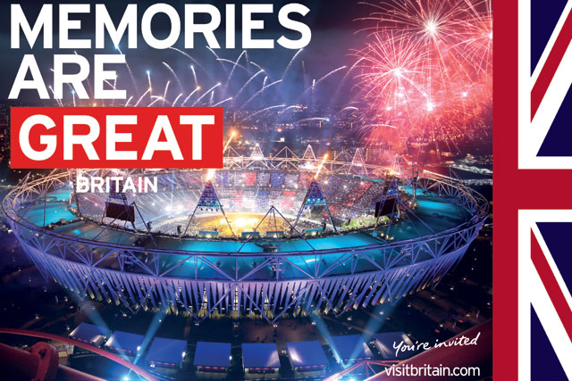 London 2012: boosted Britain's national brand image