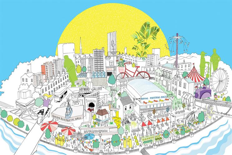 Southbank Centre illustrates summer festival experience