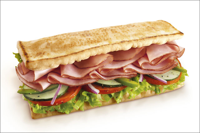 Subway: exchanges its wraps for flatbread offerings