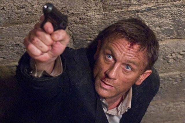 Daniel Craig: as James Bond in Quantum Of Solace