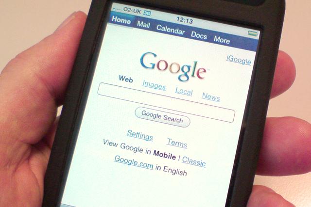 Google: updates mobile services
