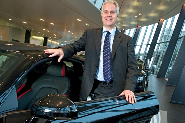 Dominic Chambers, marketing director, Audi UK
