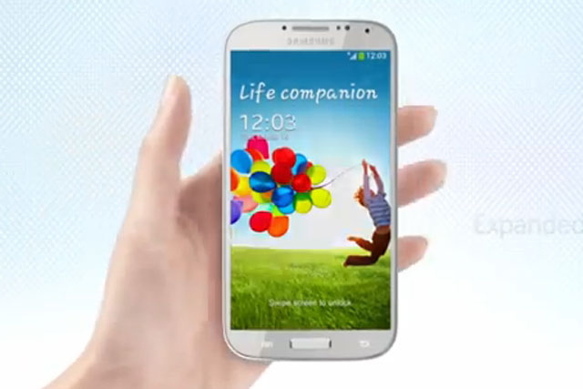 Samsung: Galaxy S4 smartphone launched in New York yesterday