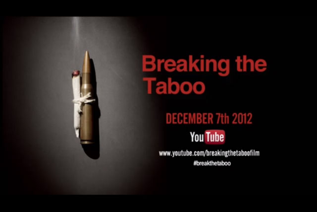 Breaking the Taboo: anti-drugs campaign debuts on YouTube