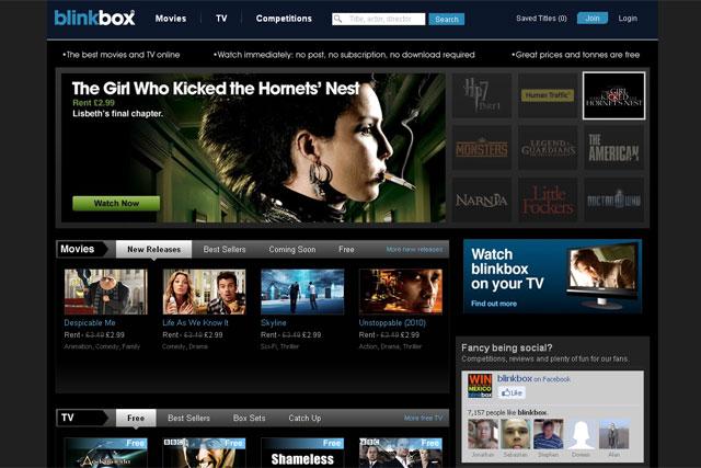 Tesco buys IPTV service Blinkbox