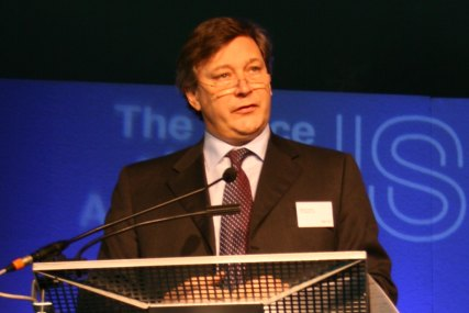 ITV's Rupert Howell speaking at ISBA 2010