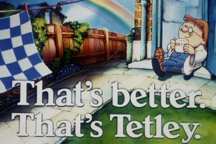 Tetley: brings back the tea folk