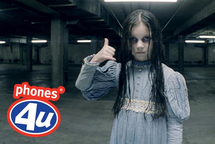 Phones4U: 2011 Halloween campaign