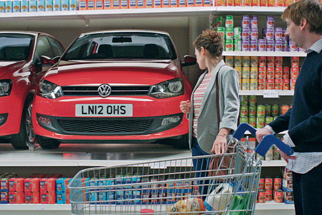 Volkswagen Golf 'supermarket' ad focuses on the marque's affordability