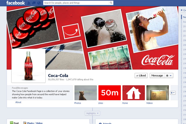Coca-Cola: crowdsources ideas for latest initiative via its Facebook fans
