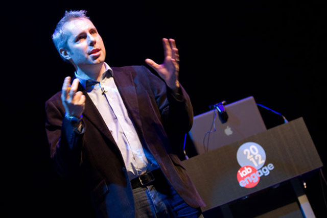 Simon Rogers: the data journalist addresses the IAB Engage conference