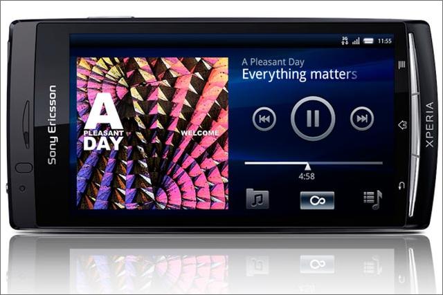 Sony Ericsson: promotes the Xperia range of smartphones