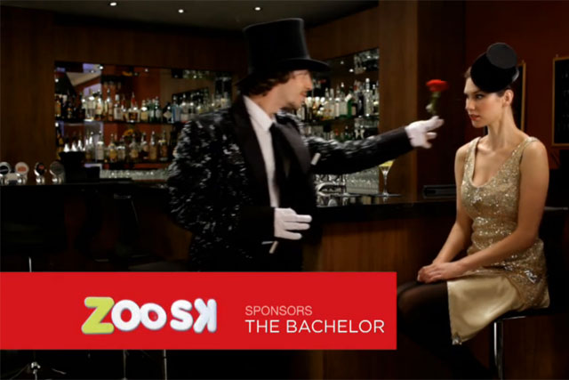 Zoosk: online dating site sponsors The Bachelor reality show on Channel 5