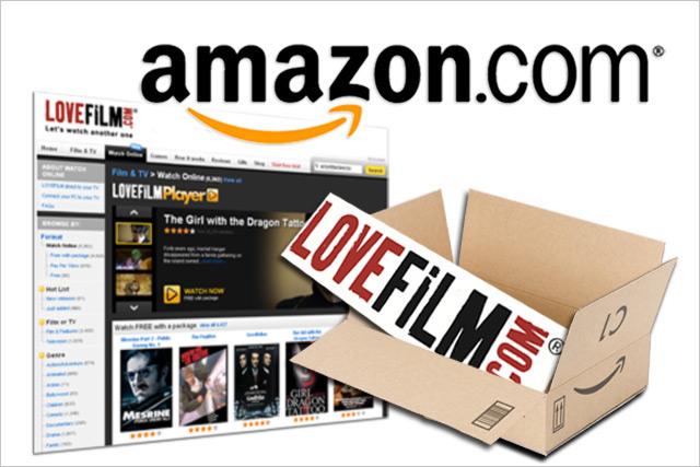 Amazon: acquires LoveFilm