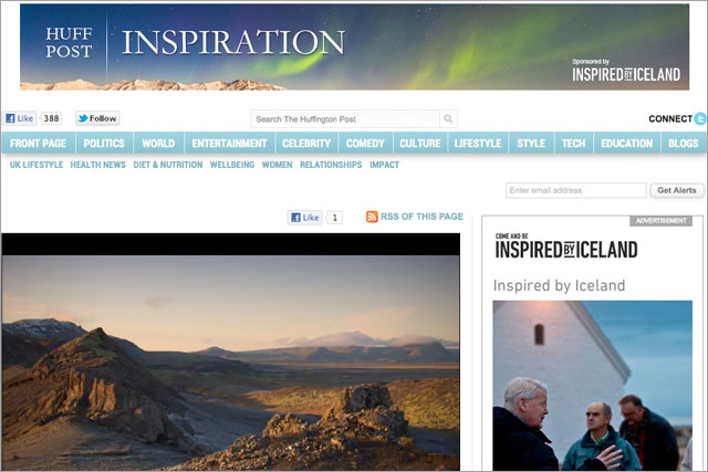Huffington Post: runs Iceland campaign