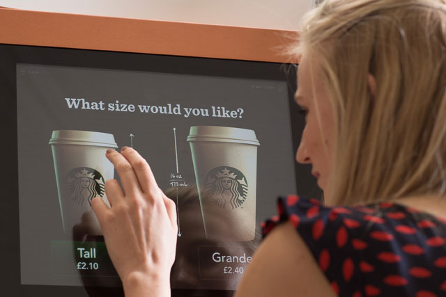 Starbucks: readies UK machine roll out