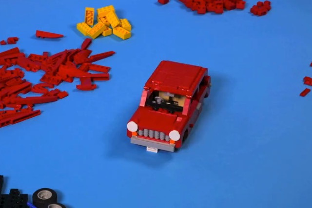 Auto Trader: social campaign allows one winner a day to have their car reproduced in Lego