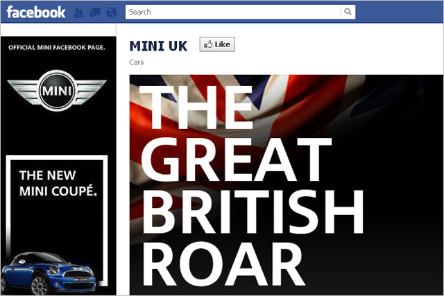 Mini: rolls out 'roar' campaign